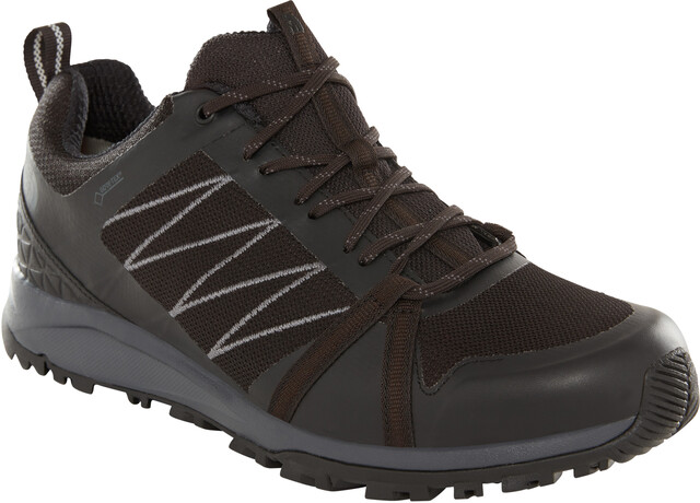 The North Face Litewave Fastpack II GTX Chaussures Homme, tnf blackebony grey